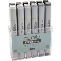 COPIC MARKER COOL GRAY SET 12 (CMK/12 CG)