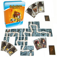 Jual Saboteur 1 Tin Case Card Game (Original) Murah