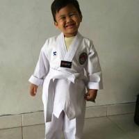 harga baju / seragam / dobok / pakaian taekwondo / tae kwon do empro 90-120 Tokopedia.com