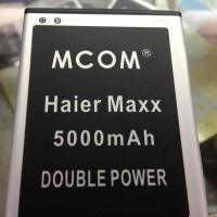 Baterai Mcom Haier Maxx 5000Mah Double Power