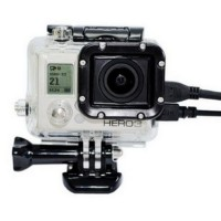 Protective Case with Side Hole For GoPro Hero 3 T2248