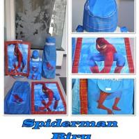 Sarung Anak Instan Spiderman Biru (Size S)