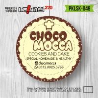 Jual sticker label produk kemasan kue cake minuman pasta botol jar PKLSK049 Murah
