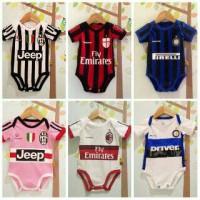 Jersey Baju Kaos Anak Bayi Baby Bola / Jumper Klub Bola football club