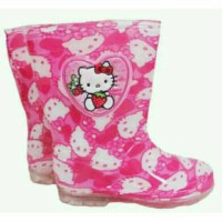 harga Sepatu Boots Import Hello Kitty Tokopedia.com
