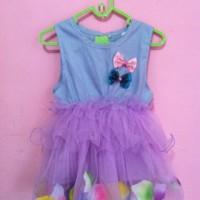 tutu dress flower baby kids