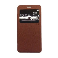 Ume Enigma Case Samsung Galaxy Grand Flip cover - Cokelat