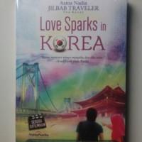 Novel Love Sparks in Korea - Asma Nadia