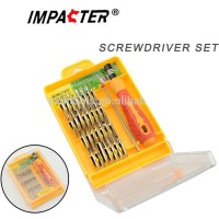 Obeng Set 32 In 1 Multifungsi Hp Screwdriver Multi Handphone Pc Pinset