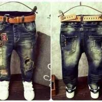 Baju Anak Import Branded Pant Flag Celana Jeans Belel Sobek Fashion
