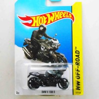 Hot Wheels BMW K 1300 R black