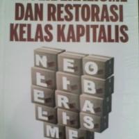 Buku Neoliberalisme dan Restorasi Kelas Kapitalis - David Harvey