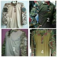 harga kaos/baju army bdu lengan panjang Tokopedia.com