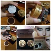 Kiss Beauty Eyebrow Powder & Magic Eyeliner Gel Black Brown no 9975