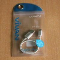 Kabel Data / Charge Vivan 30cm LIGHTNING For Iphone 5 / S, 6 / S / +, Ipad