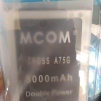 Baterai Battery Cross Evercoss A75g Dobel Power Mcom 5000mah