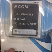 baterai batere batre dobel power mcom cross mito a800 ba-00035 3800mah