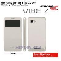Flipcover Lenovo K910 Vibe Z : GENUINE SMART Flipcover with Sleep Function