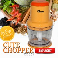 Ox 201 CUTE Chopper Oxone OX-201 Menghaluskan Bumbu-Cincang Daging OK