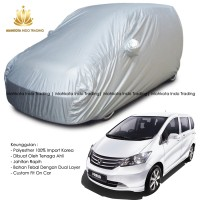 Custom Double Layer Body Cover / Sarung Mobil Honda Freed Fit On