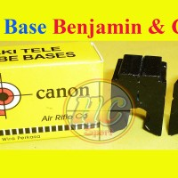 Scope base benyamin & canon ( Mounting dudukan senapan telescope )