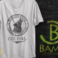 Kaos Distro, Kaos Oblong, Kaos Logo - Beacon Hills Varsity Lacrosse ND