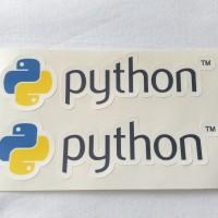 Stiker Python Vinyl