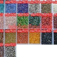 MKR5 Manik Kristal Ceko Ukuran 6 (Per butir)