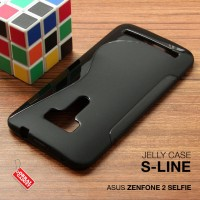 Asus Zenfone 2 Selfie Soft Gel Jelly Silicon Silikon TPU Case Softcase