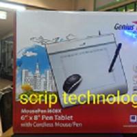 Genius Mouse Pen i608x Pen Tablet Alat Desain Grafis Alternatif Wacom