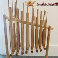 harga Angklung Komplit 8 Nada Alat Musik Tradisional Indonesia Handmade Tokopedia.com