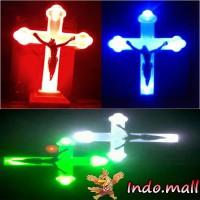 harga Lampu Salib Yesus Led Kado Hiasan Dekorasi Natal Paskah Tokopedia.com