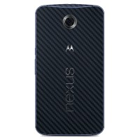 9Skin - Premium Skin Protector Motorola Nexus 6 - 3M Black Carbon