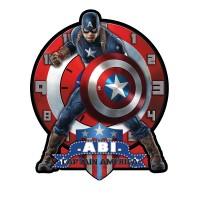 Jam Dinding Captain America Favorit Anak - CA.1