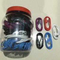 Kabel Data Candy Toples Merk UMAX 1Meter Kualitas Setara VIVAN Murah