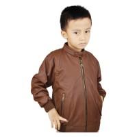 Jaket Anak Laki-laki Branded CBR SIX - RKC 546 Ferrari Coklat