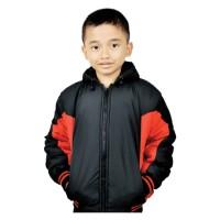 Jaket Anak Laki-laki Branded CBR SIX - IKC 366 Despo Hitam Komb