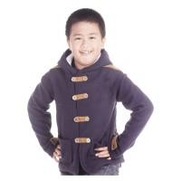 Jaket Sweater Anak Laki-laki Branded CBR SIX - ARC 808 FLEECE COKLAT