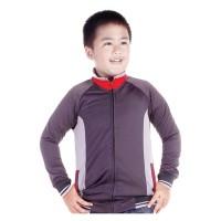 Jaket Sweater Anak Branded CBR SIX - ARC 807 LOTO ABU KOMB