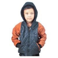 Jaket Sweater Anak Branded CBR SIX - MPC 311 PARASUT HITAM KOMB