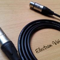 Kabel Microphone/Active Speaker XLR MALE/FEMALE Canare Japan 5 meter