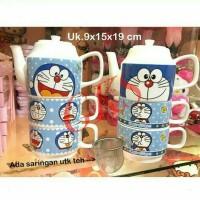 harga Teko Susun Keramik Doraemon Tokopedia.com