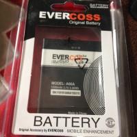 Baterai Cross Evercross A66A Original OEM 1800Mah