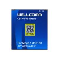 Wellcomm Battery Double IC Untuk Samsung Galaxy Mega 5.8