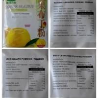 Egg Pudding/Mango Pudding/Taro/Matcha/Chocolate puding Powder Impor