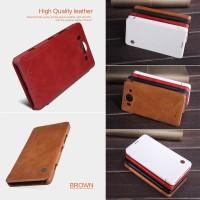 Nillkin Qin Leather HardCase Cover Case Casing Microsoft Lumia 950