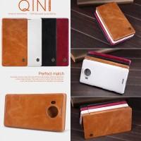 Nillkin Qin Leather Flip Cover Casing Case Microsoft Lumia 950 XL