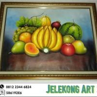 Lukisan Buah Buahan 60 x 80 cm