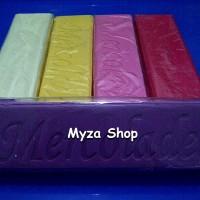 Coklat Warna Batangan / Mercolade Rainbow Chocolate Compound
