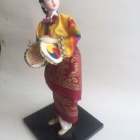 Hanbok Doll - Boneka Tradisional Khas Korea Selatan II-Travel Souvenir